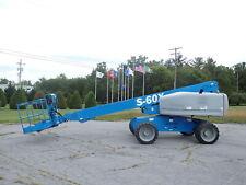 2012 Genie S60x 60ft Straight Stick Boomlift