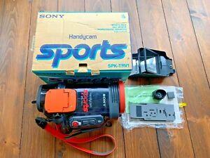 Vintage Sony SPK TRV1 Waterproof Housing For TRV models and fit SONY Camcorder