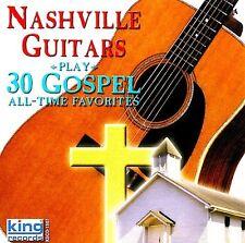 The Nashville Guitar - Play 30 Gospel All Time Favorites [New CD]