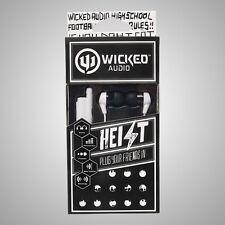 Wicked Audio WI-2400 Headphones In-Ear Heist Earbuds WI2400 White /GENUINE