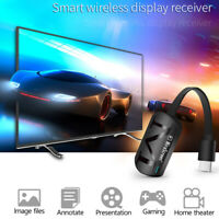 True 1080P G4 TV Stick Dongle Receiver Anycast HDMI TV WiFi TV Streamer New