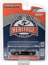2017 FORD GT BLACK #2 RACING HERITAGE TRIBUTE SERIES 1 1/64 GREENLIGHT 13200 A