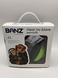Baby BANZ Earmuffs Infant Hearing Protection  Ages 0-2 Years No Blare Earmuffs