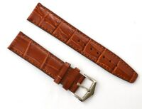 22mm Brown Genuine Leather Band Strap Alligator-Style for Patek Philippe