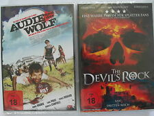 Audie und der Wolf + The Devils Rock - Nazi Zombies - Saw, Werwolf, Vollmond