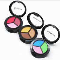 3 Colors Palette Vogue Make Up Eyeshadow Natural Smoky Eye Shadow Set