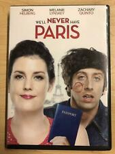 Well Never Have Paris (Dvd, 2014) - G0726