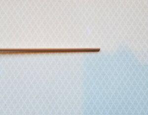 "Dollhouse Miniature Trim Quarter Round Thin Wood Strip 1/8 x 18 ""long 1:12 Scale"