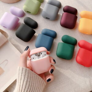 Earphone Protector Shockproof Hard Plastic Case Cover For Apple AirPods 1st 2nd