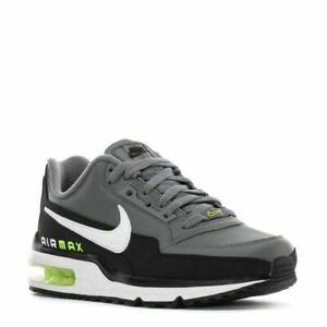 AUTHENTIC NIKE Air Max LTD 3 Black White Grey Volt DD7118 002 Gym Shoes men size