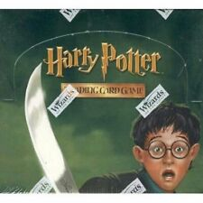 Harry Potter CHAMBER OF SECRETS Booster packs x18 SEALED TCG CCG Rare!