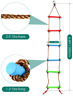 6.6 Ft Climbing Rope Ladder For Kids Climbing Ladder Hanging Rope Ladder Sports