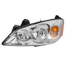 Driver Left Genuine Headlight Headlamp Assembly For Pontiac G6 No CTF Package