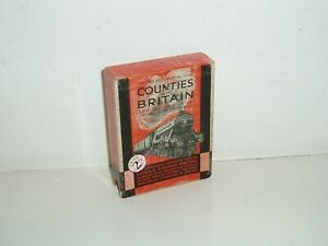 Vintage Counties of Britain Card Game Served by The L&NER Railways. 1930s.