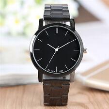 KEVIN Round Dial Stainless Steel Strap Men Women Quartz Wrist Watch Bracelet