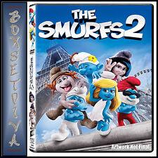 THE SMURFS 2 - Neil Patrick Harris & Jayma Mays  **BRAND NEW DVD **