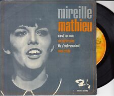 45T  EP MIREILLE MATHIEU *C'EST TON NOM*  (MADE IN SPAIN)