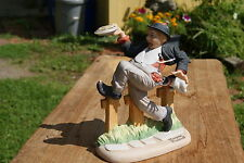 "1980 Norman Rockwell Figurine ""Caught In The Act """