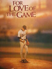 New listing FOR LOVE OF THE GAME POSTER BASEBALL DETROIT TIGERS KEVIN COSTNER KELLY PRESTON