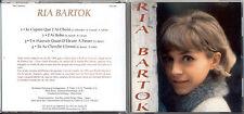 """RIA BARTOK.  Cd.''Club années 60"""" 4 titres 1966 ( 45 t canada ) COLLECTOR"""