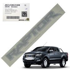 "for Ford Ranger XLT WILDTRAK 12 18 LH Sticker ""raptor"" Decal Genuine Black"