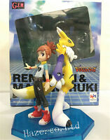 2pcs Digimon Tamers Renamon Rika Nonaka PVC Figure Toy Gift