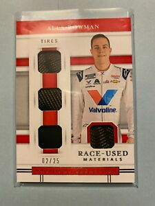 A22,998 - 2020 Panini National Treasures Quad Race Used Tires #9 Alex Bowman/25