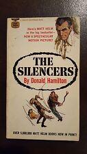 "Donald Hamilton, ""Silencers,"" 1962?, Gold Medal d1641, VG, MTI"