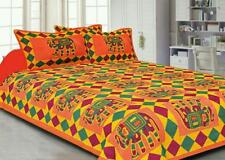 Indian Tradition Bedding Set Throw Set Hippie Bohemian Bed Sheet King Size Quilt