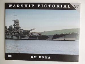 RM Roma (Warship Pictorial No. 37)