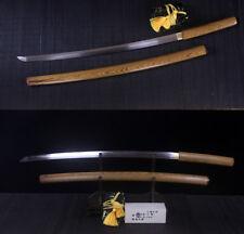 Clay Tempered T10 Steel Japanese Shirasaya Sword Full Tang Katana Rosewood Saya