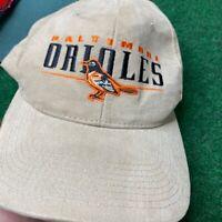 Deadstock Vintage 90's Baltimore Orioles Snapback Hat Starter MLB