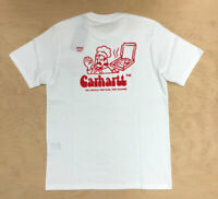 Carhartt Wip Bene T Shirt  175 g/sqm White Red Pizza Limited Edition