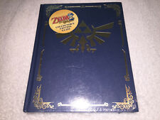 Legend of Zelda Phantom Hourglass (Collector's Edition Hardcover Guide) Sealed!