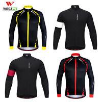 Giacche da ciclismo invernali maglie pile termico calde a maniche lunghe Jacket