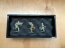 King & Country WW2 3 Pcs Soldiers IWJ-22 New Open Box