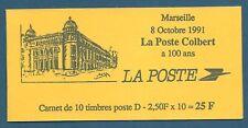 Carnet 10 timbres Briat D rouge N°2712-C1 La Poste Colbert - Marseille neuf**