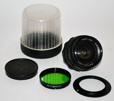 "RARE RUSSIAN USSR WIDE ANGLE ""MIR-1Sh"" M42 mount  f2.8/37 LENS"