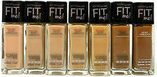 (3) Maybelline Fit Me! Dewy + Smooth Foundation YOU CHOOSE YOUR COLOR