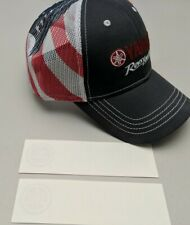 Yamaha Hat, Stickers / Decals, USA America flag trucker mesh cap Revs Your Heart
