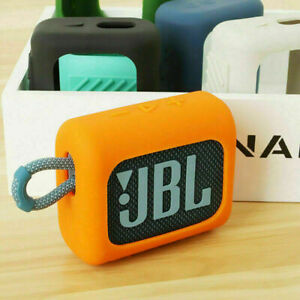 Silicone Sleeve Protective Cover For JBL GO3 Portable Wireless Bluetooth Speaker