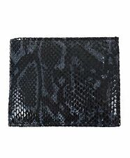 Bi-Fold Black Snake Pattern Men's Wallet (MGLW-A26BK)