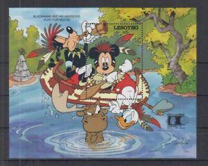 D466. Lesotho - MNH - Cartoons - Disney's - Characters