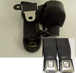 Morris Classic Concepts 3 Point Front Seat Belt 68-73 Dart for Bucket Seats Pr.
