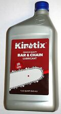 Kinetix Chainsaw Bar & Chain Oil for Echo Husqvarna Poulan Stihl, 1 Quart Bottle