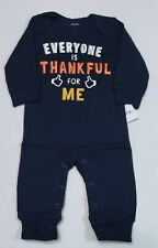 Carter's Thanksgiving Jumpsuit Size Newborn 3 6 or 9 Months Thankful for ME