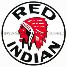 """Red Indian 12"""" Vinyl Decal (DC221)"""