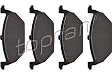 TP Disc Brake Pad Set Front Axle Fits AUDI SEAT Ibiza SKODA VW Polo 1J0698151