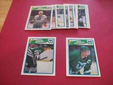 1988/89 O-Pee-Chee OPC Hartford Whalers Team Set
