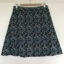 Mistral Skirt Size 12 Grey Green Cotton Skirt